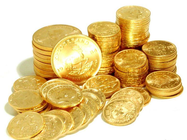 Купить золотые монеты в СПб
