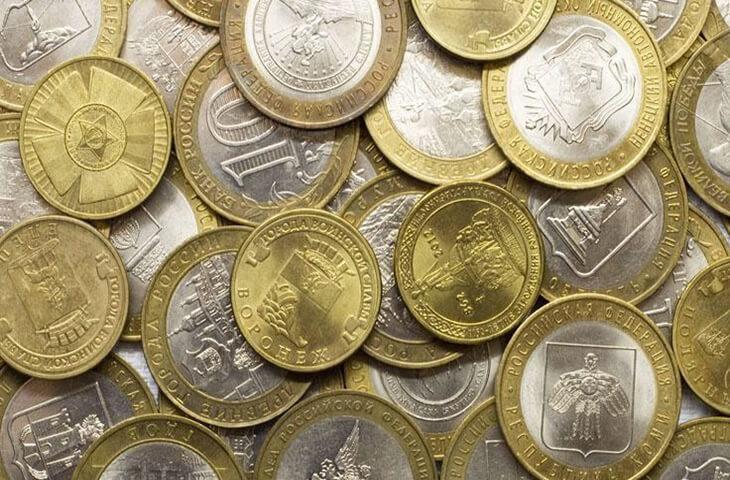 Редкие монеты россии 1991 2015 фото 10 рублей владикавказ