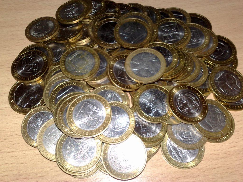 Ценные монеты современной РФ