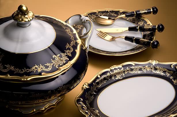Немецкая красивая посуда из фарфора, Германия