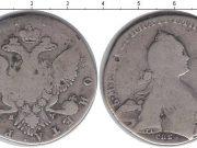 1 рубль 1763 года фото