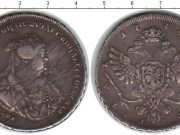 1 рубль 1740 года фото
