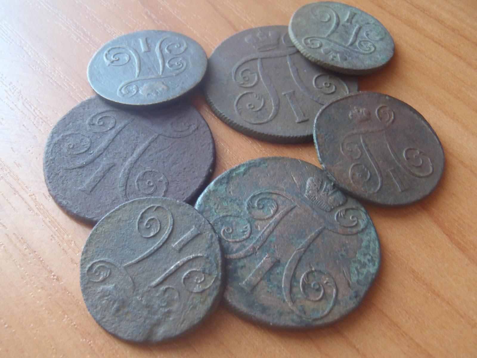 Монета полушка 1735 года. Цена и стоимость на рынке в России