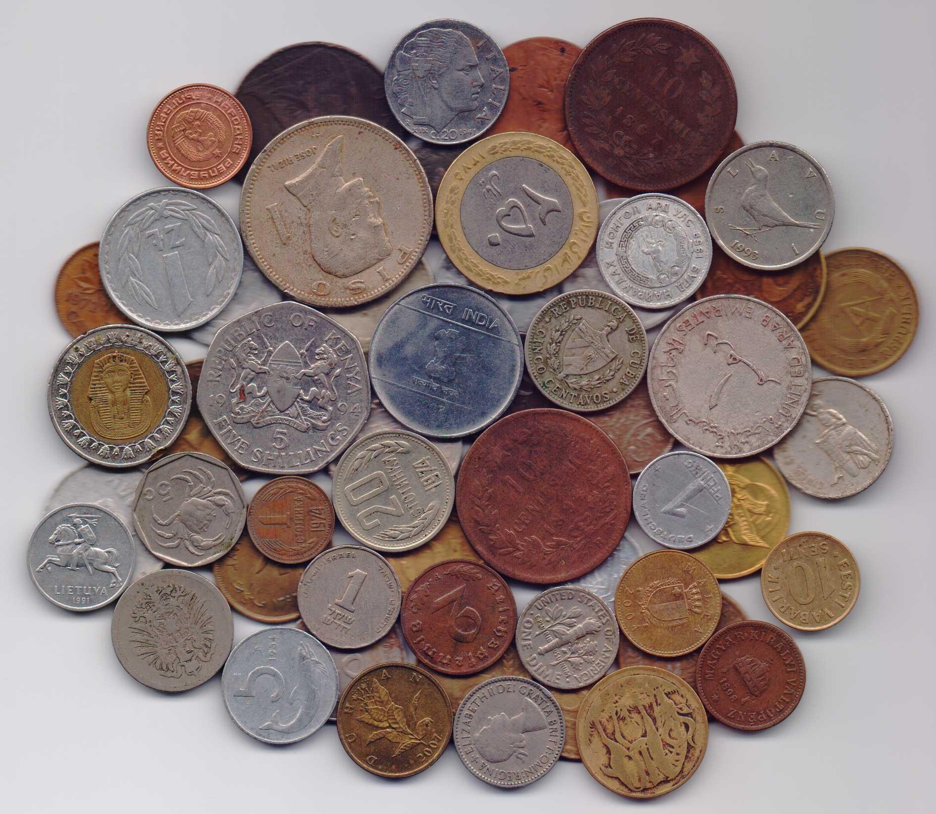 Мешок монет: аукцион, коллекционный интернет-магазин