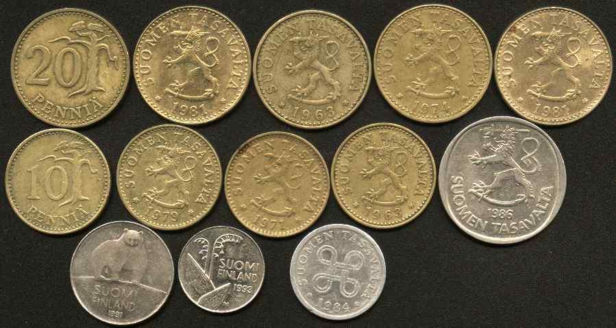 Монета финляндии детеч