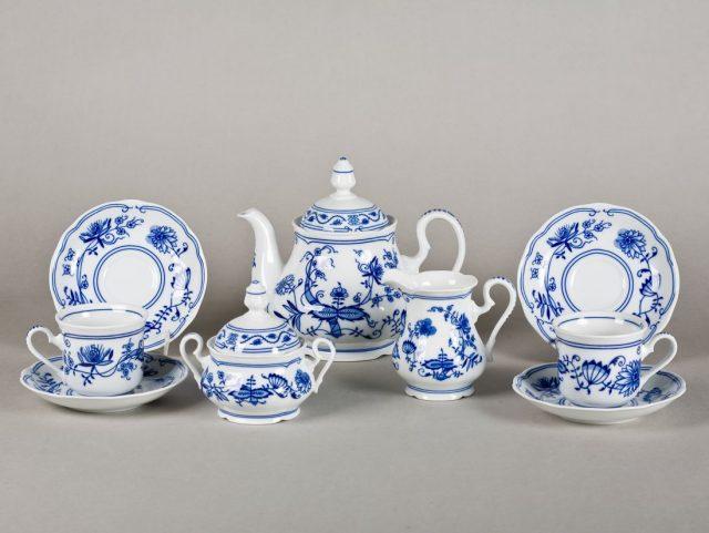 Чайные сервизы из фарфора, Чехия, 12 персон