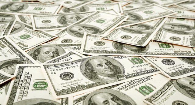 Самая крупная купюра долларов США, фото