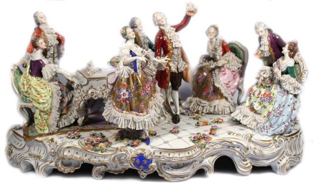 Статуэтки из фарфора. Купить фарфоровые статуэтки и фигурки