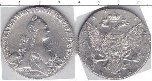 1 рубль 1766 года фото
