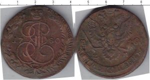 5 копеек 1771 года фото