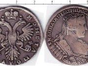 1 полтина 1733 года фото