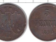 5 пенни 1892 года фото