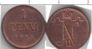 1 пенни 1916 года фото