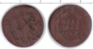 1 полушка 1743 года фото