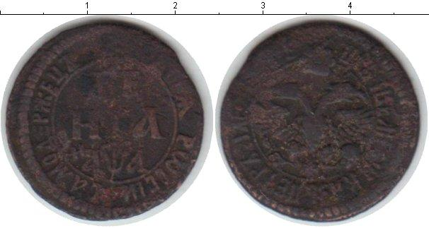 1 деньга 1703 года фото
