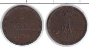1 пенни 1874 года фото
