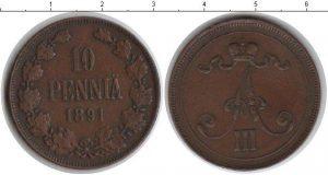 10 пенни 1891 года фото