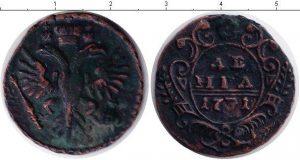 1 деньга 1731 года фото
