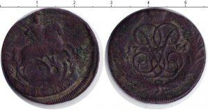 1 копейка 1761 года фото