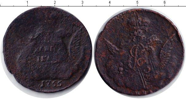 1 копейка 1755 года фото