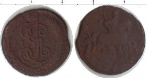 1 деньга 1766 года фото