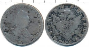 1 рубль 1793 года фото