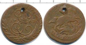 2 копейки 1763 года фото