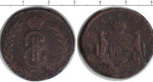 2 копейки (разновидность) 1768 года фото