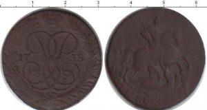 2 копейки 1738 года фото