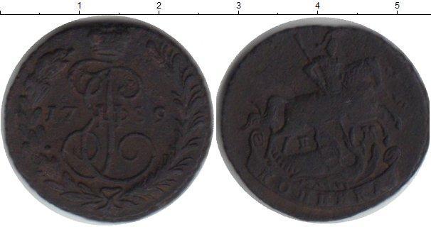 1 копейка 1759 года фото