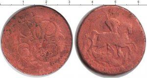 2 копейки 1752 года фото