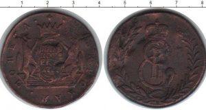 5 копеек 1777 года фото