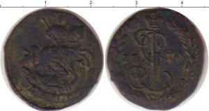 1 деньга 1770 года фото