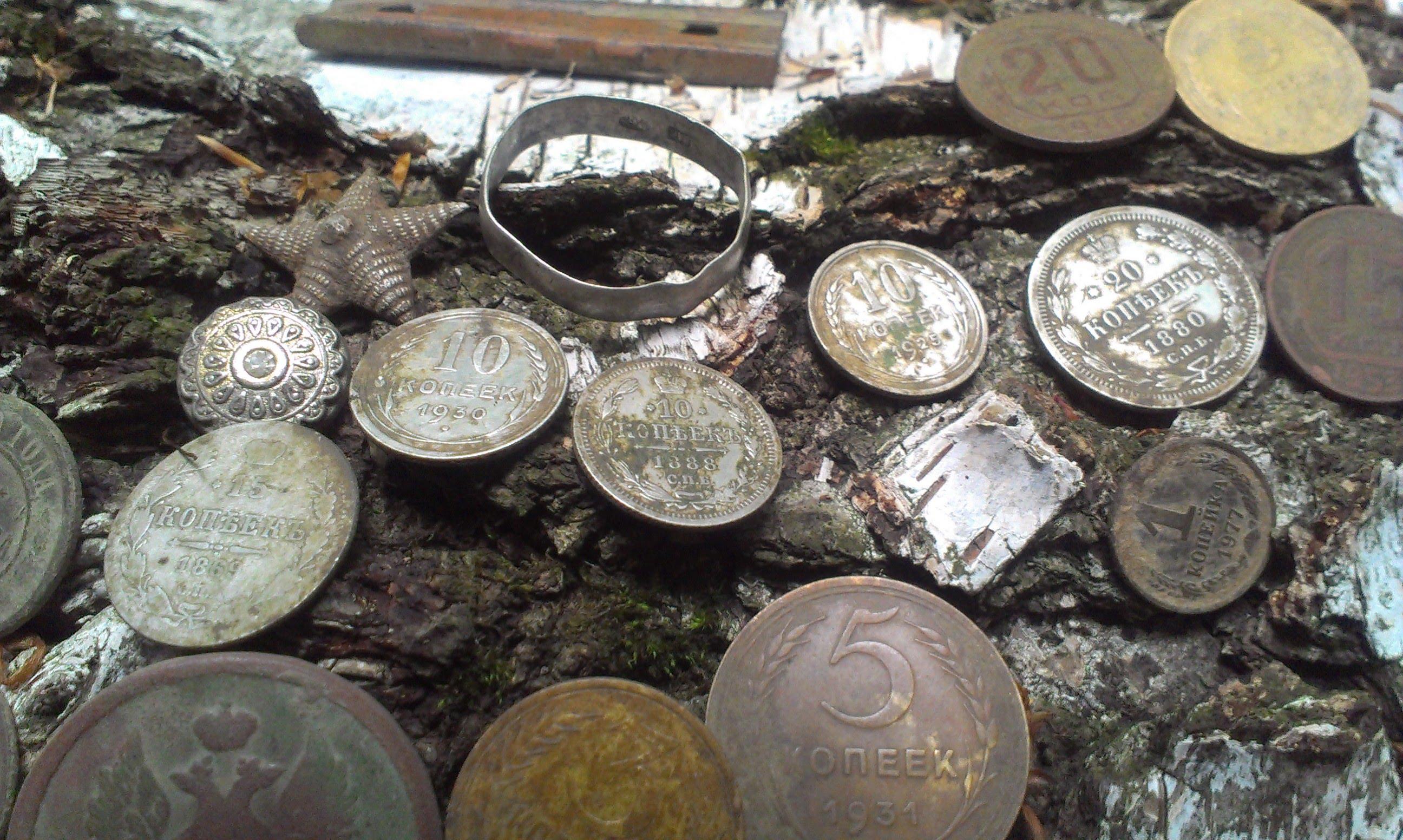 Поиск монет и кладов металлоискателем в 2018 году - Я-коллек.