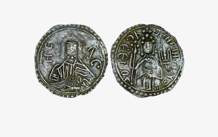 Чеканка первых русских монет