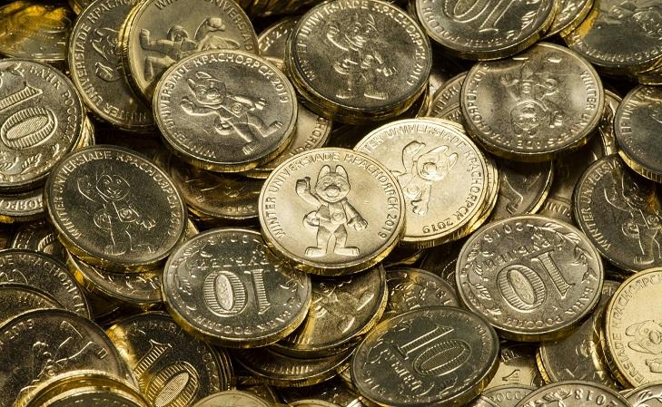 Современные монетные тиражи