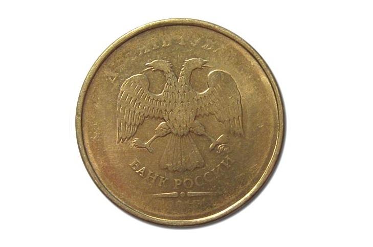 Непрочекан монеты 2012 года