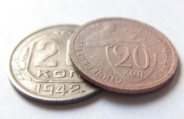 Как чистить медно-никелевые монеты