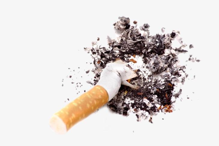 Чистка монет сигаретным пеплом