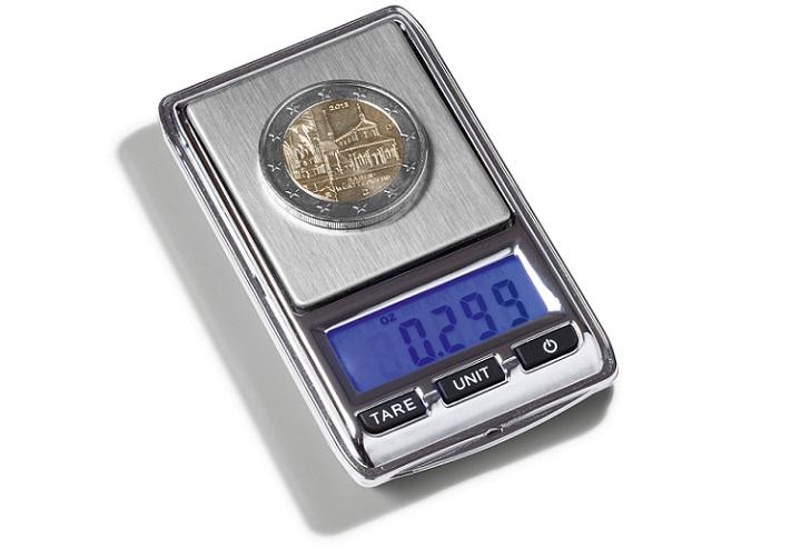 Определение массы монеты
