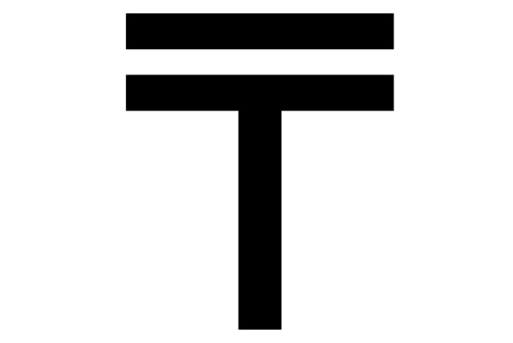 Графический символ тенге