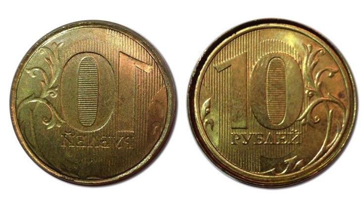 """Монета """"залипуха"""""""