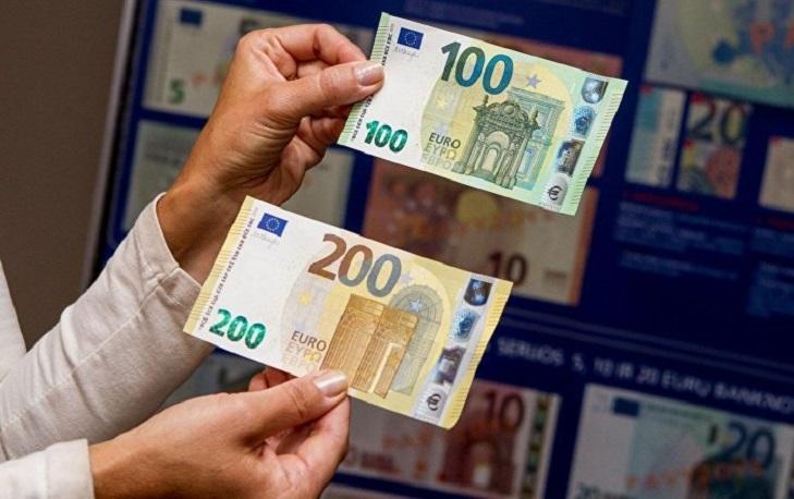 Печатная краска на банкнотах евро