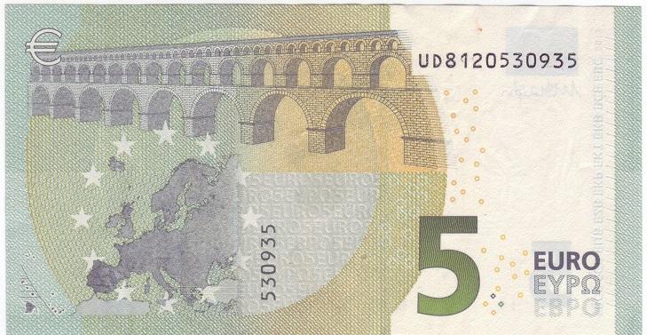 Серийные номера евро