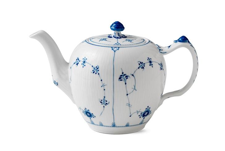 Сервиз из датского фарфора Blue Flower