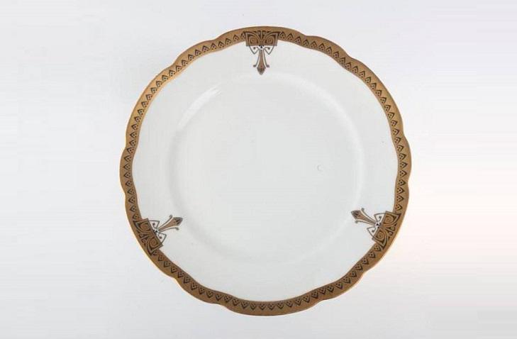 Фарфоровые тарелки фабрики Попова