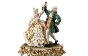 Итальянские статуэтки из фарфора