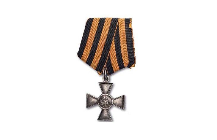 Награды с лентой святого Георгия