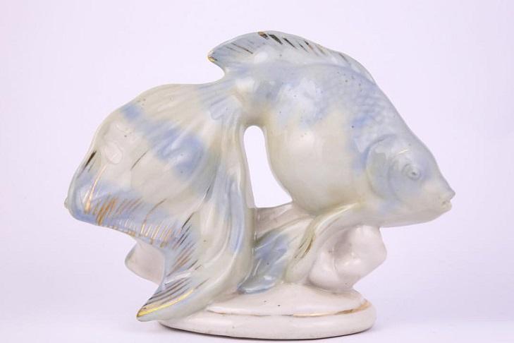 Статуэтка из рижского фарфора