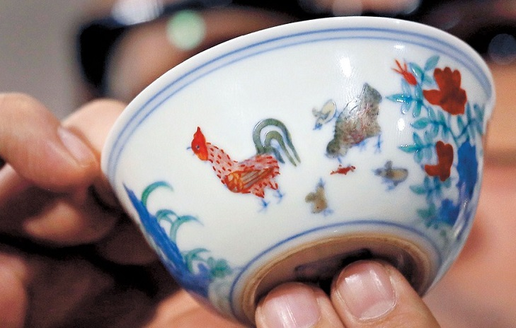 Дорогая изделие из фарфора Куриная чаша